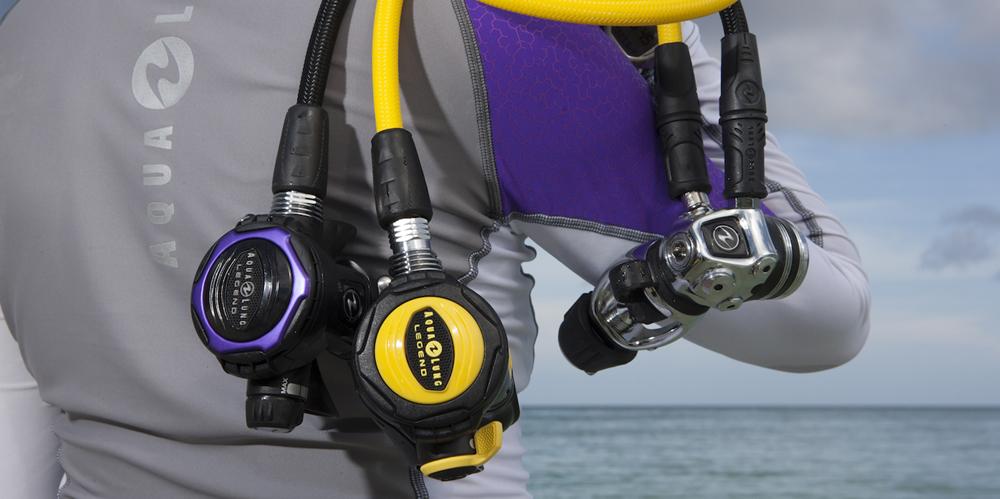 Aqualung catalog shoot, Stuart Cove's Dive Bahamas